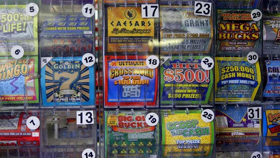 Massachusetts Supermarket Sells 11 Winning Lottery Tickets