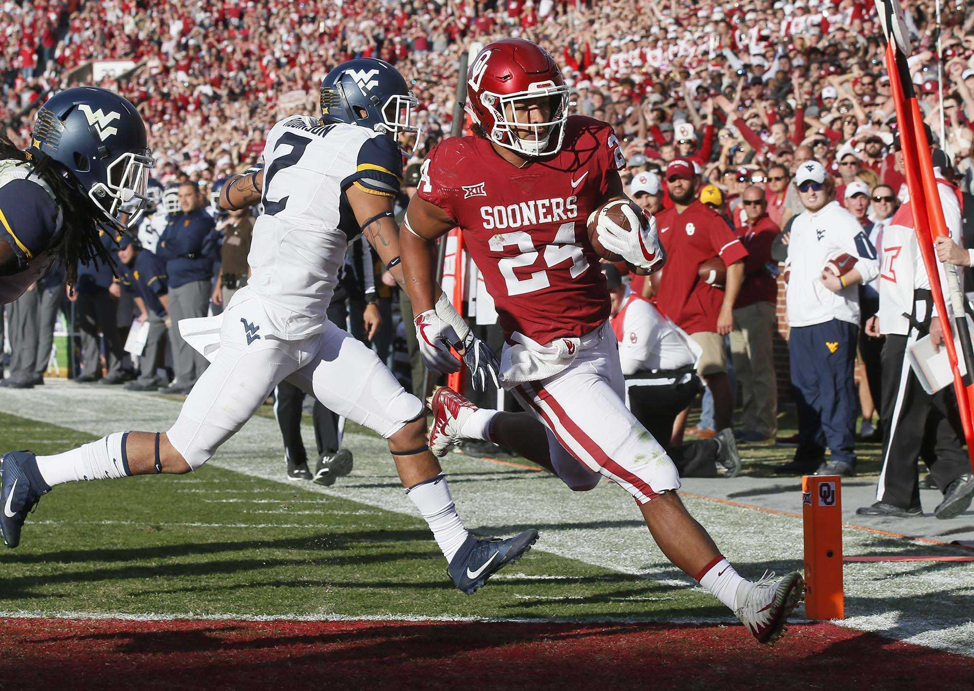 Oklahoma leading rusher Rodney Anderson accused of rape in protective order