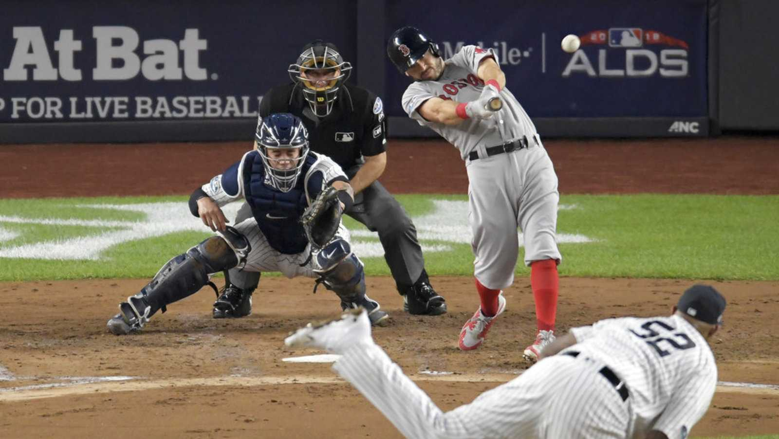 Red Sox beat Yankees, advance to American League Championship Series