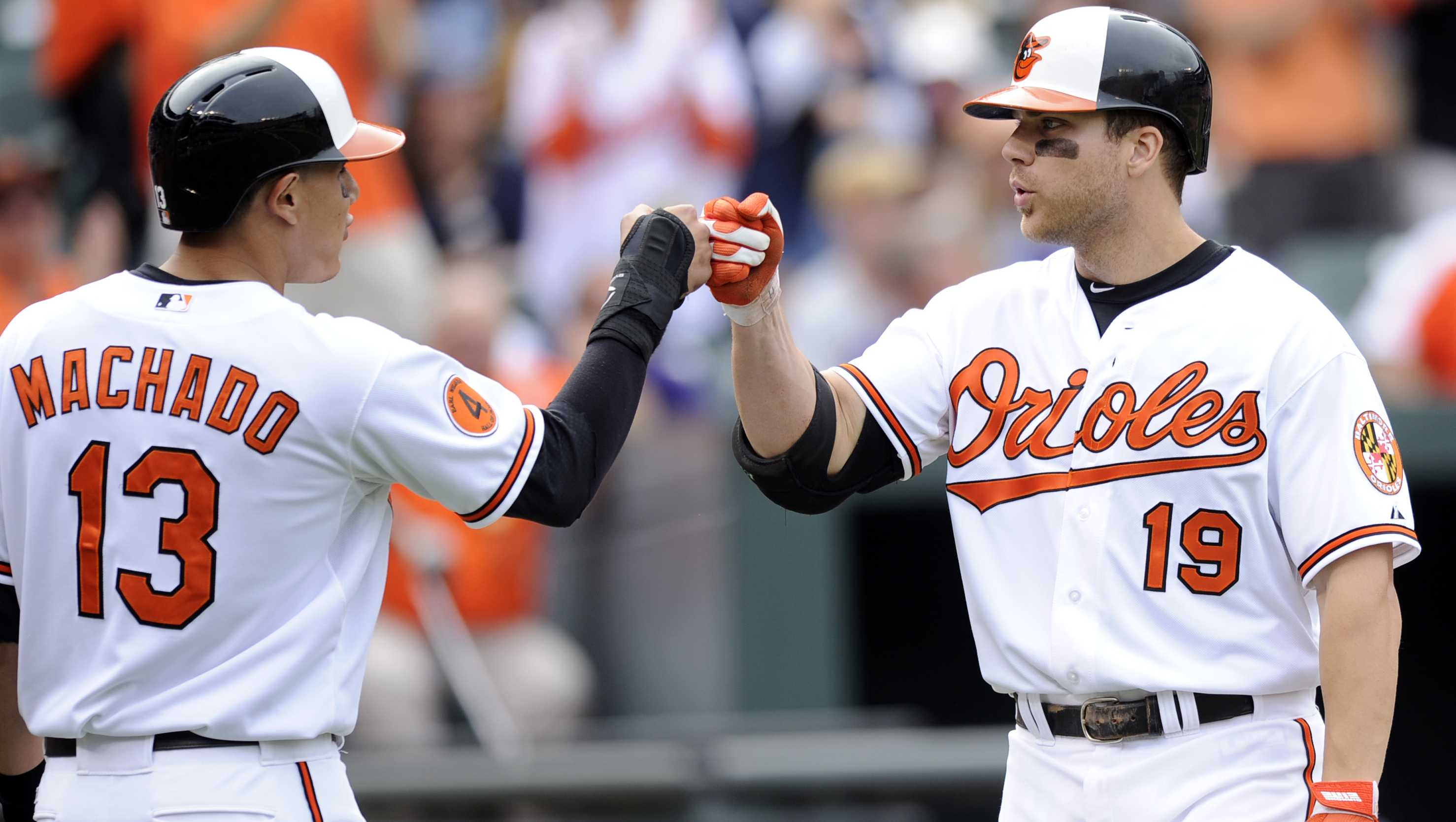 Manny Machado, Chris Davis