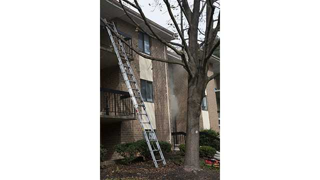 Lutherville-Timonium apartment fire