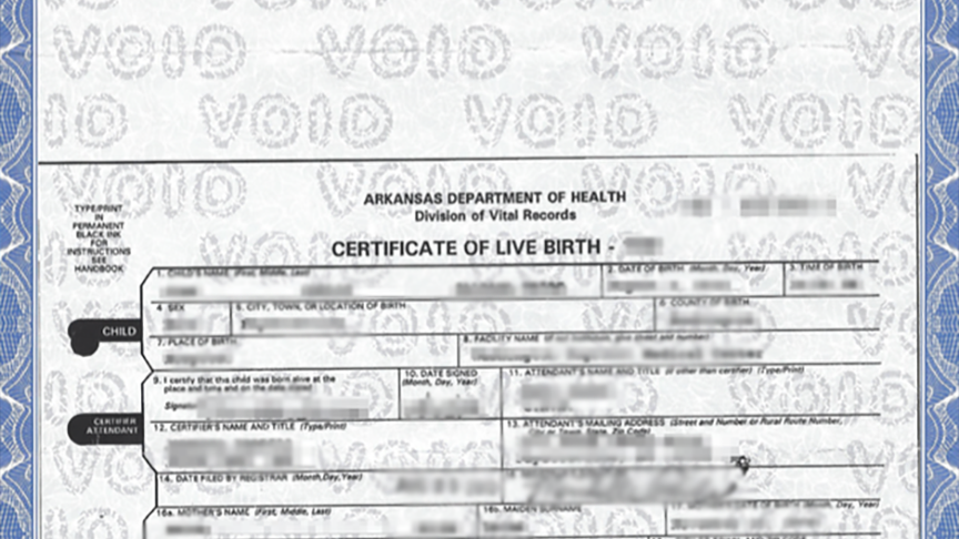 how to get a new birth certificate in ontario canada