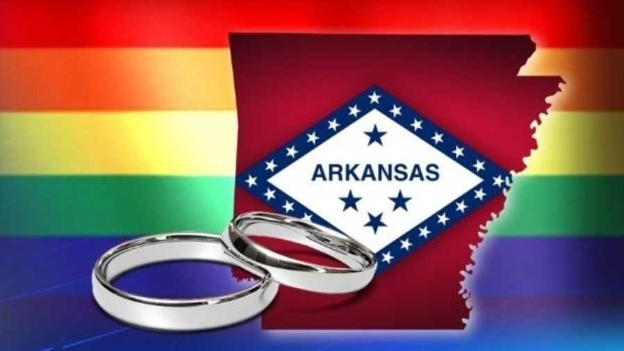 Arkansas same-sex marriage same sex marriage gay marriage