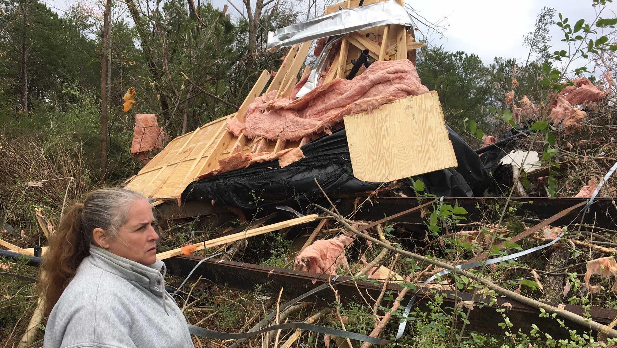 Ashridge tornado damage