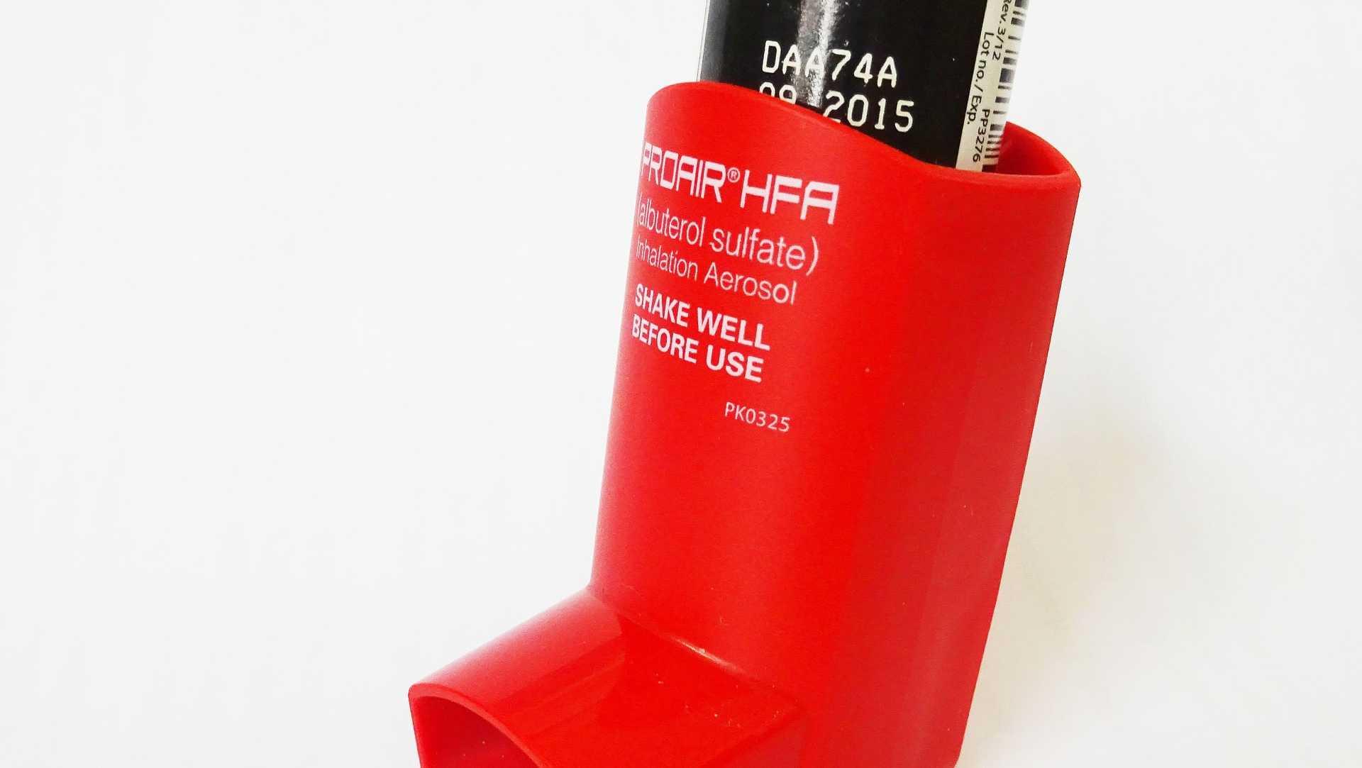 File image of an inhaler