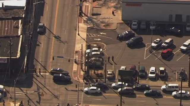 A shooting occurred Friday, March 17, 2017, outside a mall in Atlanta