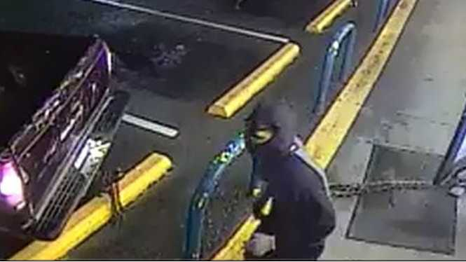 Attempted ATM theft