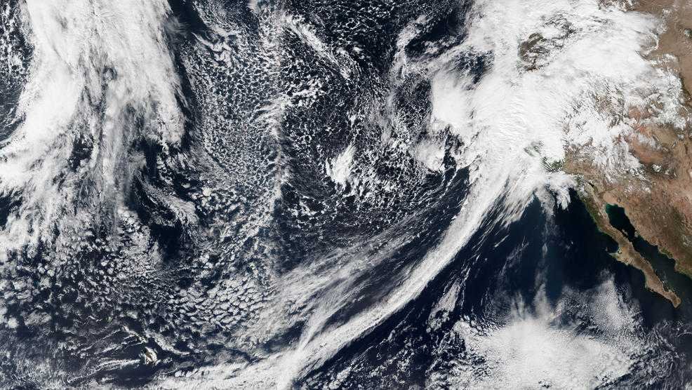 Atmospheric River seen from space