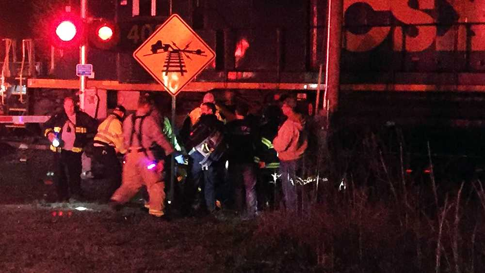 Train and ATV collide in Roebuck