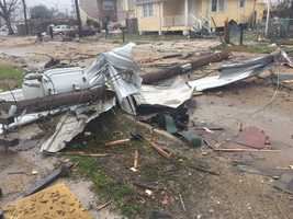 Damage in NOLA East