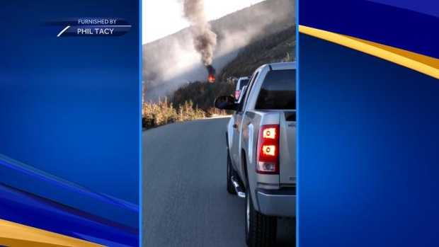 Mt Washington Auto Road Fire