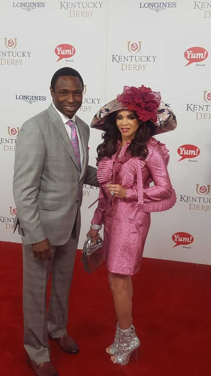 Avery Johnson and Cassandra Johnson