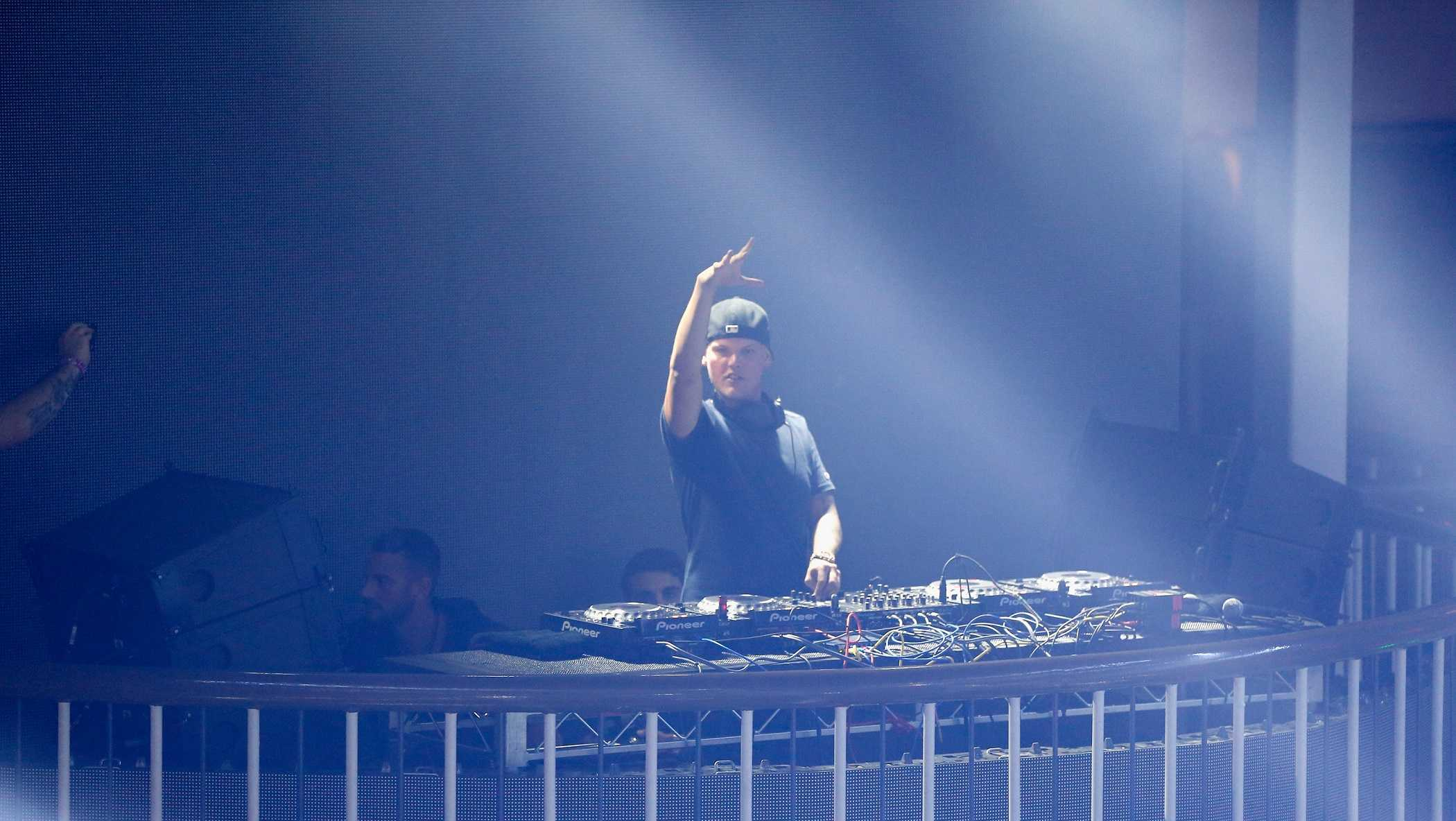 Avicii performsduring Rolling Stone Live SF with Talent Resources on February 7, 2016 in San Francisco, California.
