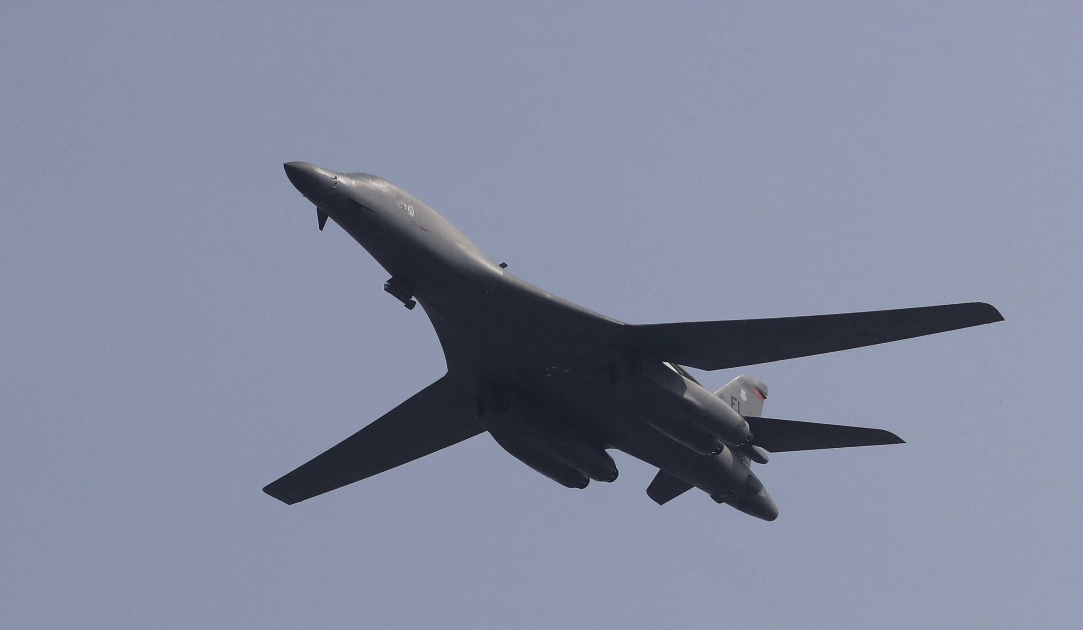 US sends supersonic bombers in show of force against N.Korea