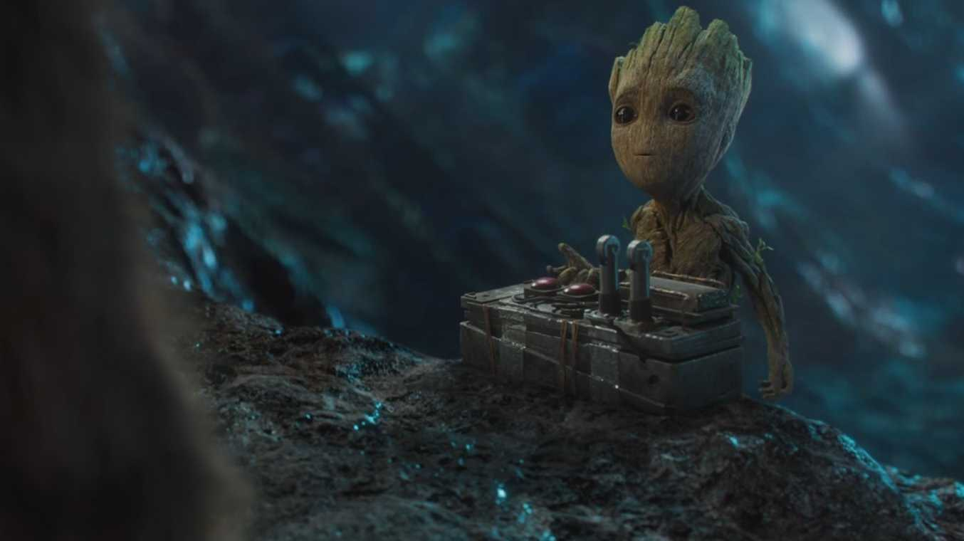 Baby Groot from 'Guardians of the Galaxy: Volume 2'