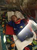 Baby Superman to the rescue