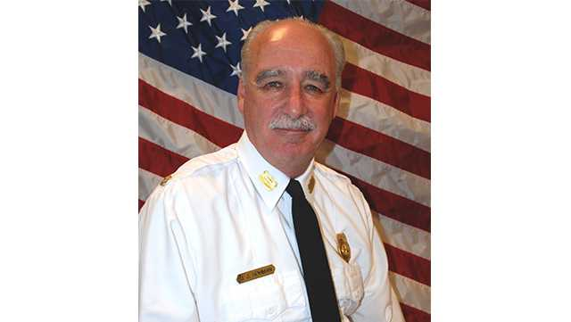 Baltimore County fire Chief John J Hohman