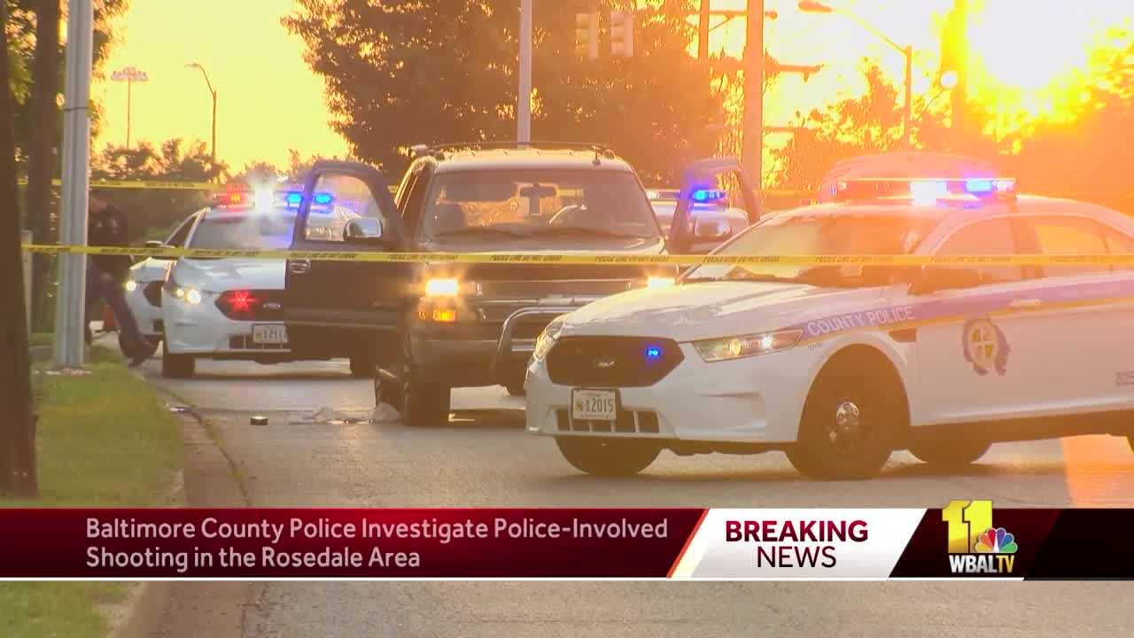 Baltimore County police shooting Rosedale