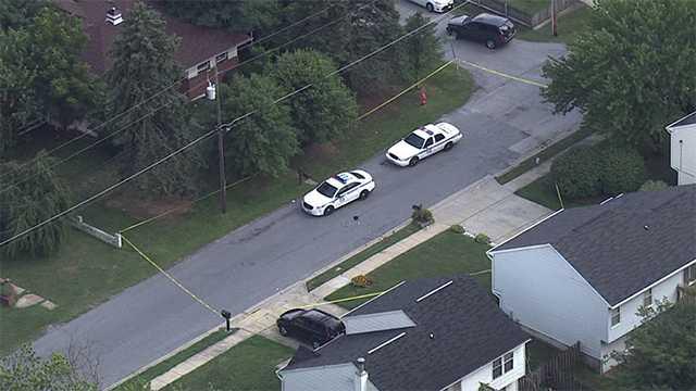 Baltimore County double shooting