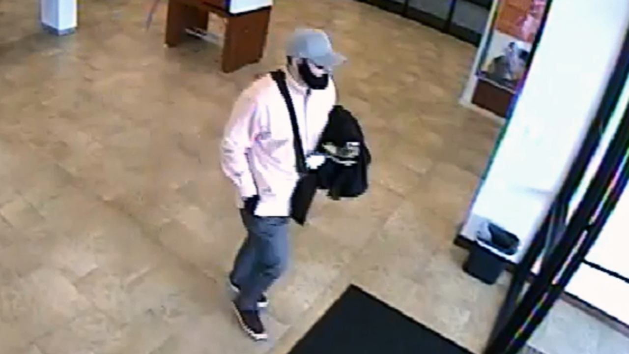 Trussville bank robbery