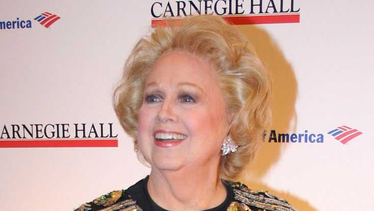 Barbara Cook at the 120th Anniversary of Carnegie Hall in New York City in April 2011