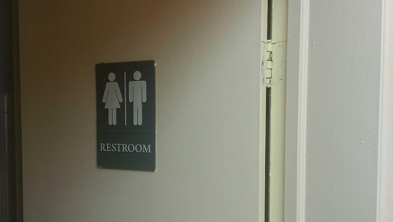 restroom bathroom