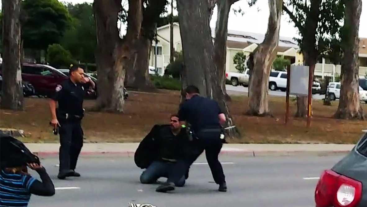 Salinas baton beating