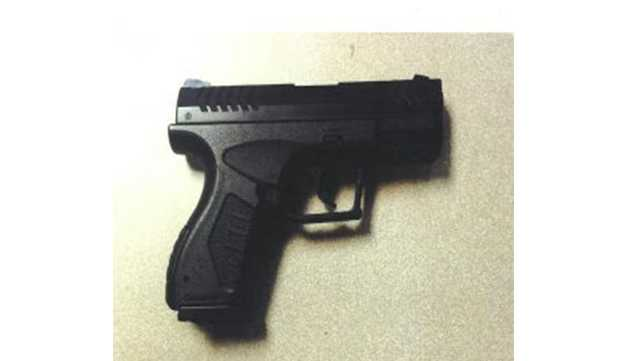 Maryland State Police said an Abingdon man pointed this BB gun at a man during a road rage incident in Abingdon.