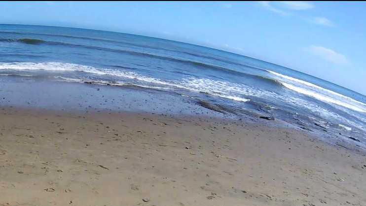 ocean sand