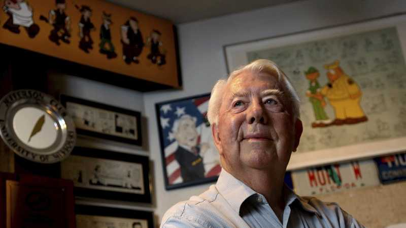 Mort Walker, the artist and author of the Beetle Bailey comic strip, died on Saturday, Jan. 27, 2018, a family member said the comic strip artist has died. He was 94.
