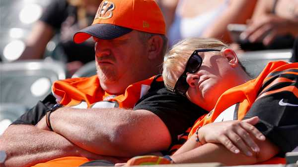 Cincinnati is 2nd most miserable sports city in North America
