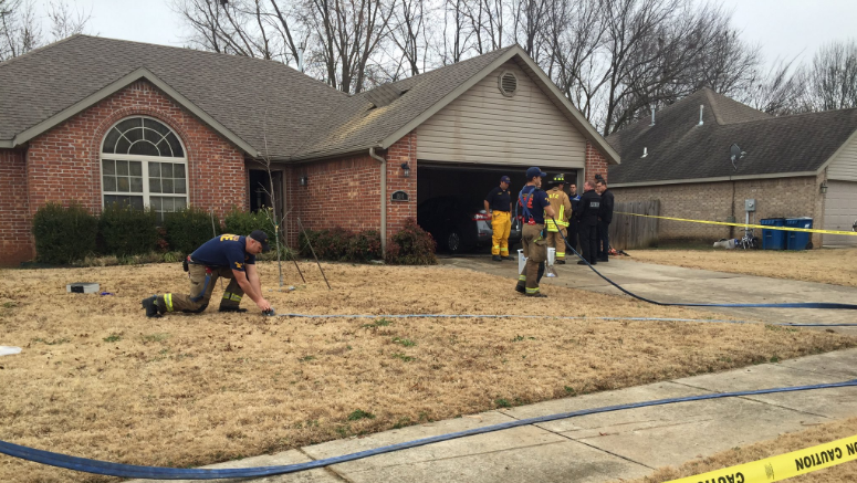 Bentonville House Fire