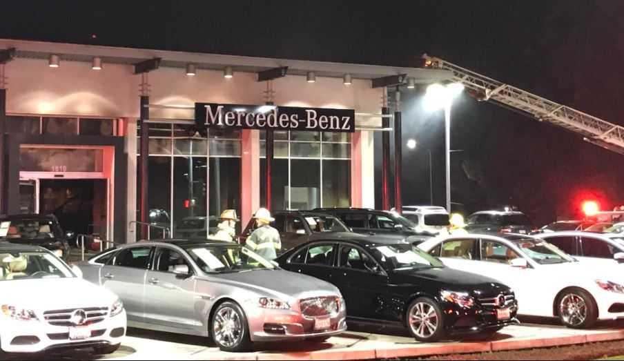 Mercedes Benz Sacramento >> Fire Damages Sacramento Mercedes Benz Dealership Sacramento News