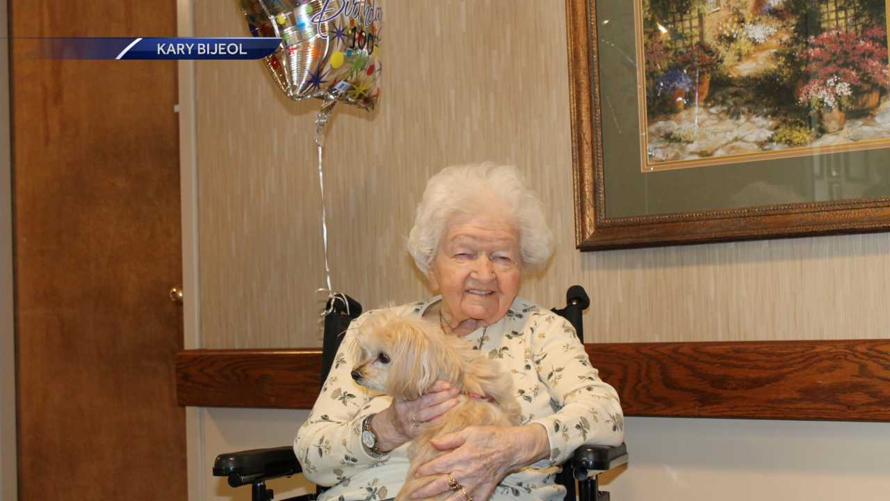 Bertha Lawrence turns 100