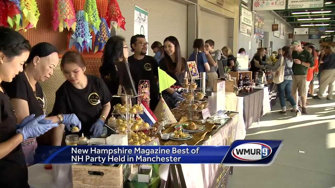 New Hampshire Magazine's Best of NH party held in Manchester