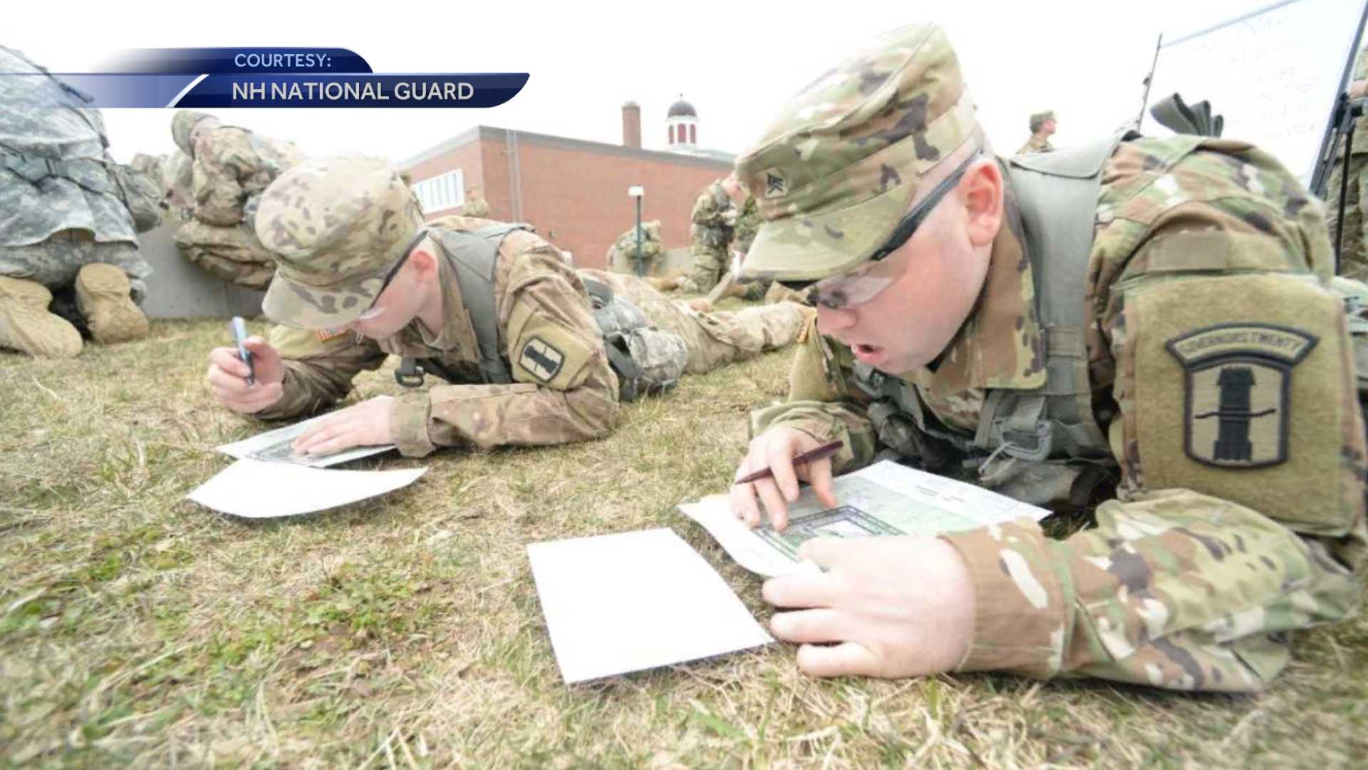 NH National Guard members compete in Best Warrior Competition