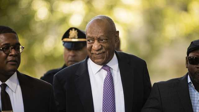 Bill Cosby arrives for his sexual assault trial at the Montgomery County Courthouse in Norristown, Pa., Friday, June 9, 2017.