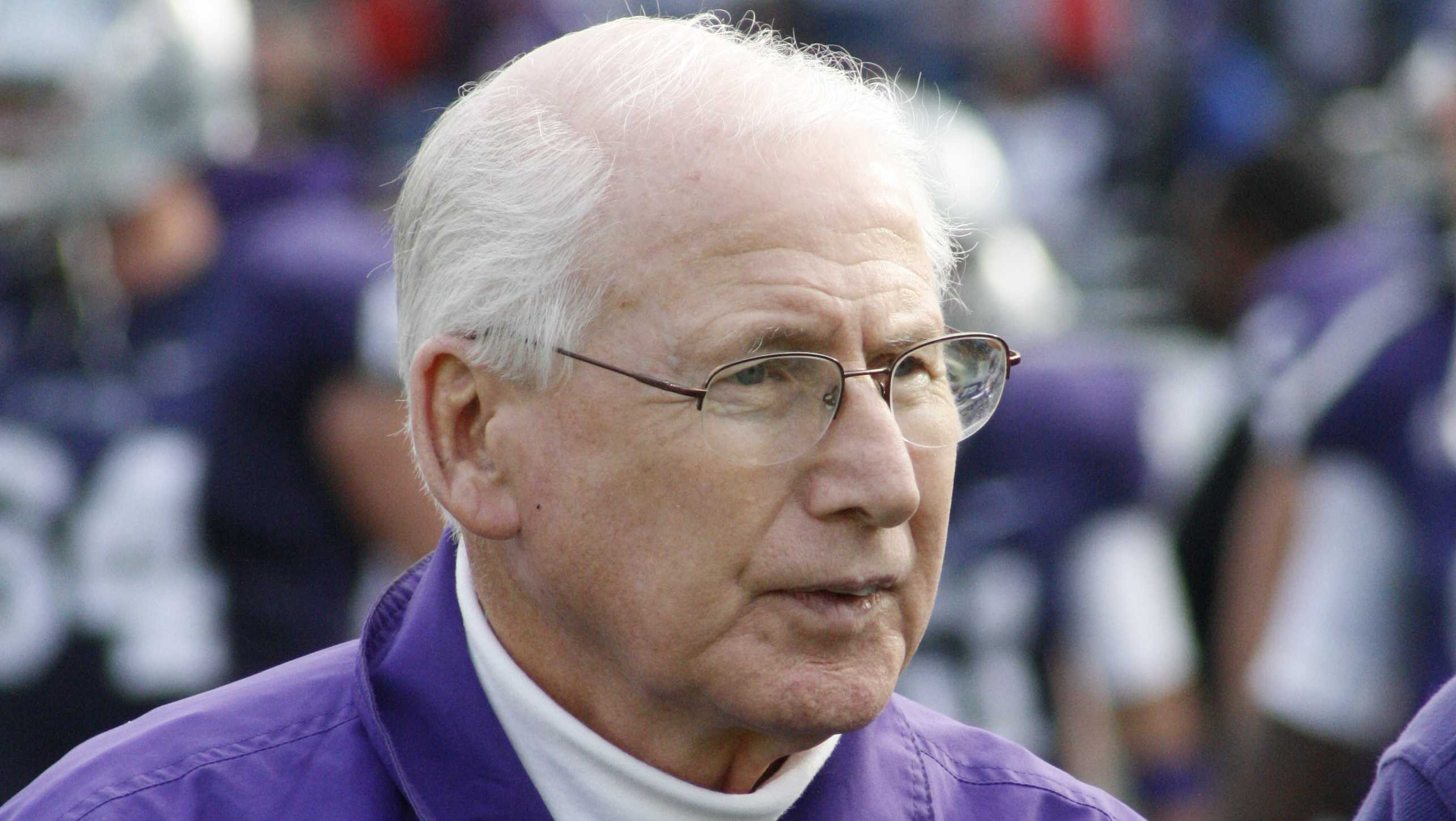 Kansas State Head Football Coach Bill Snyder