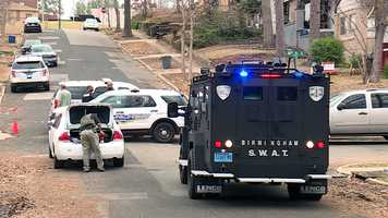 Birmingham hostage situation