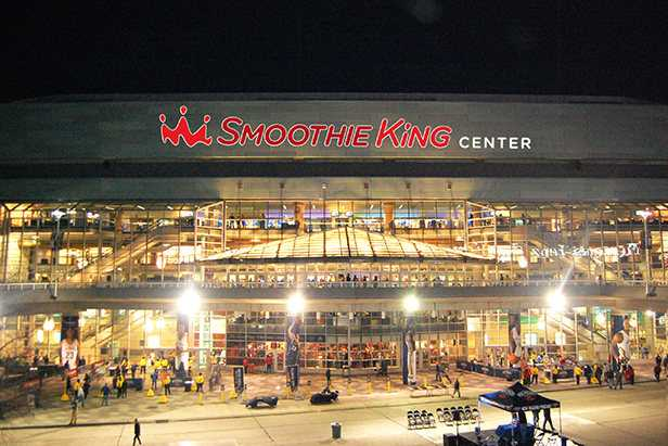 Pelicans-Pacers game postponed because of leaky roof at Smoothie King Center
