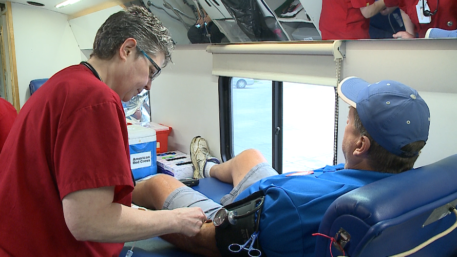 United Blood Services: Blood needs in Las Vegas are met for now