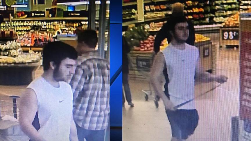 Rogers Walmart suspect