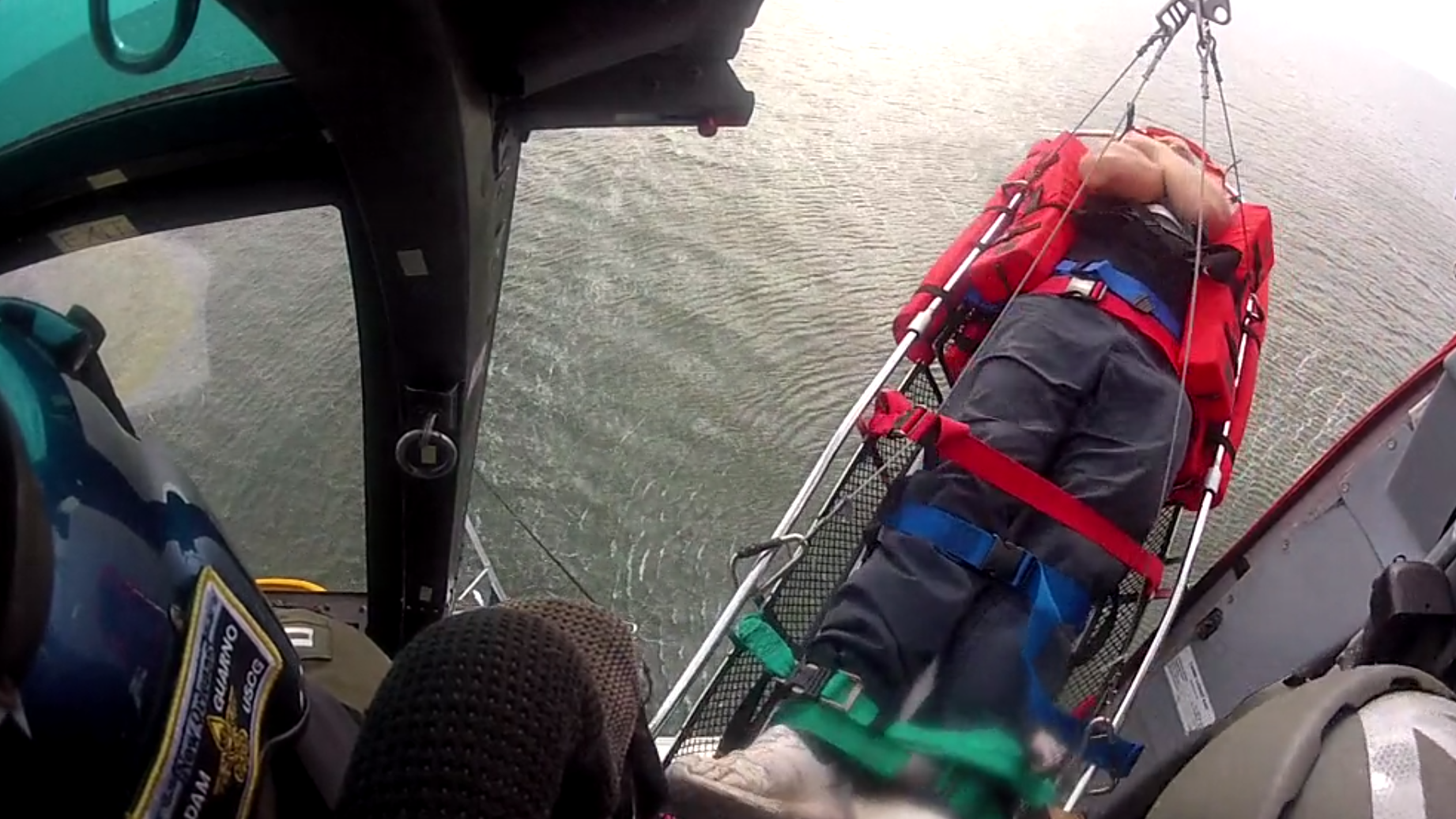 Boater rescued with help of U.S. Coast Guard