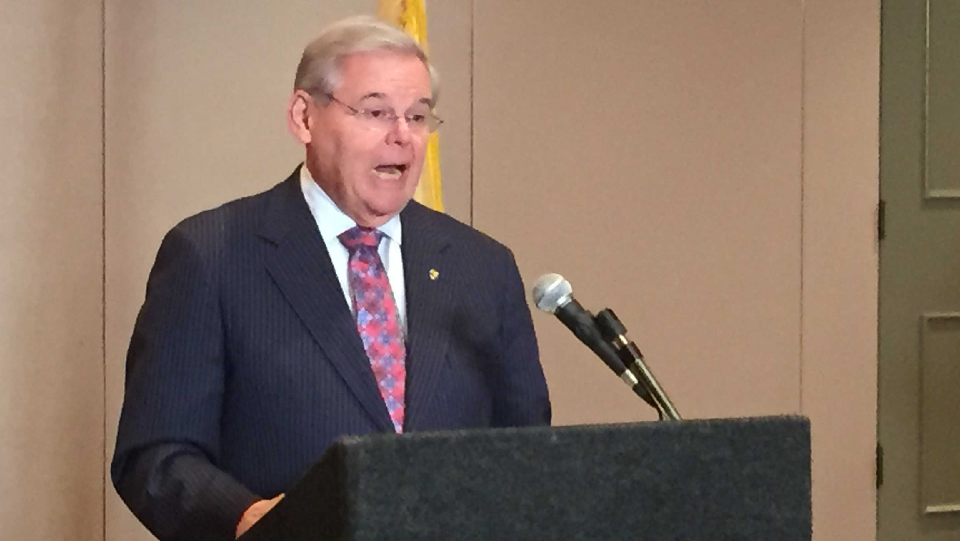New Jersey Sen. Bob Menendez
