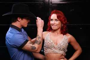 Bonner Bolton with Sharna Burgess