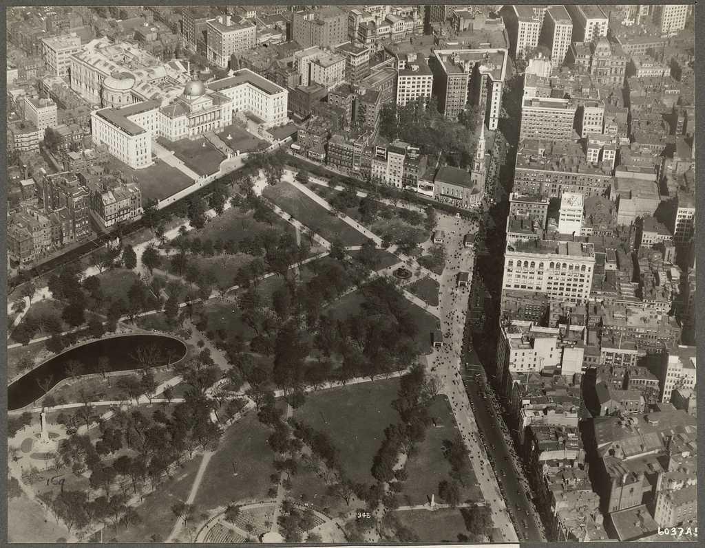 Boston Common 1928