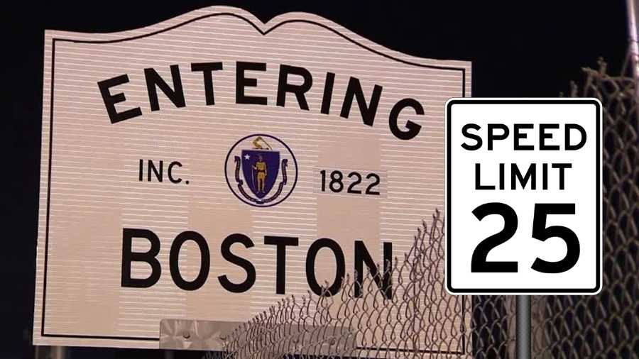 Speed Limit 25, City of Boston