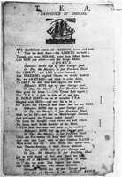 Boston Tea Party poem