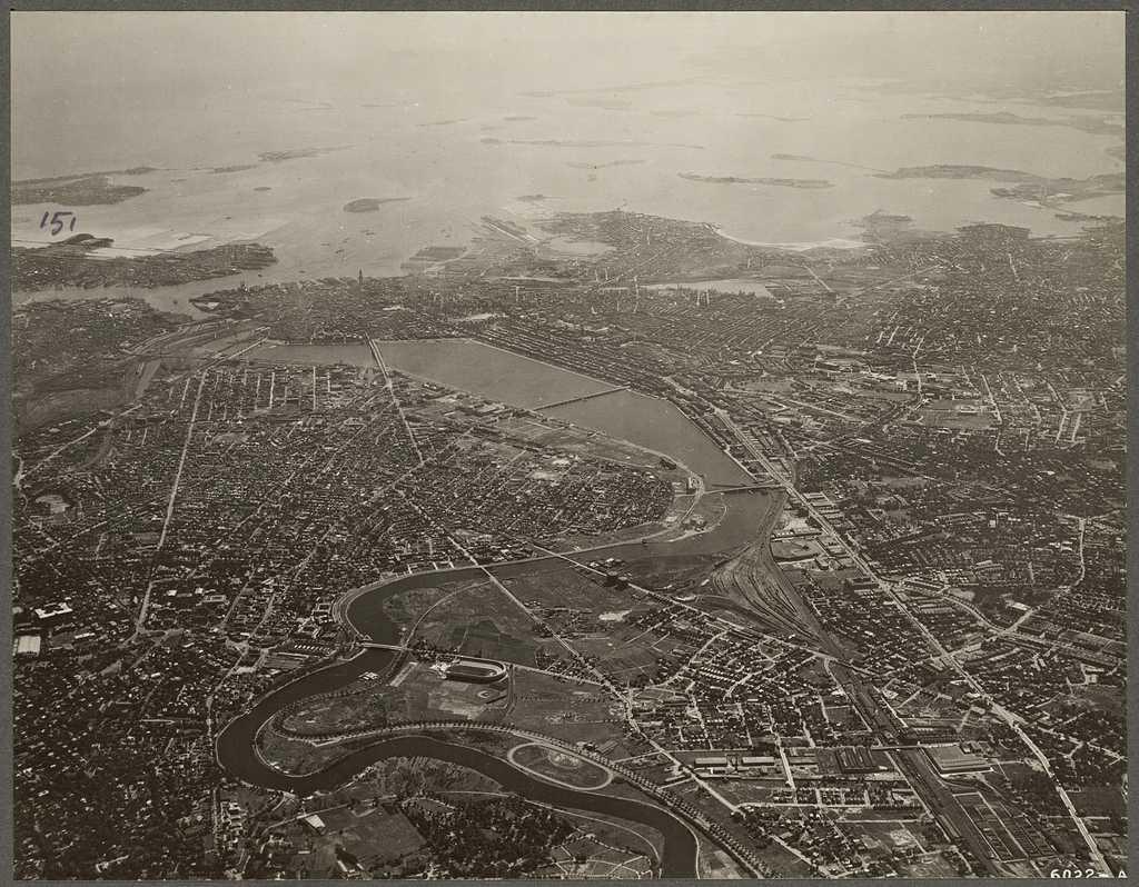 Boston and Cambridge 1930
