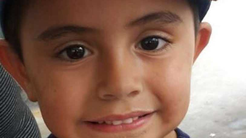 A vehicle hit Angel Robles, 4, as the boy was walking with his grandmother along a crosswalk.